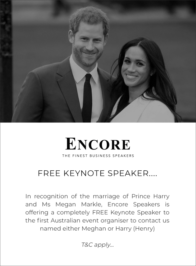 FREE SPEAKER ROYAL OFFER! UPDATE: ANY ROYAL NAME QUALIFIES!!